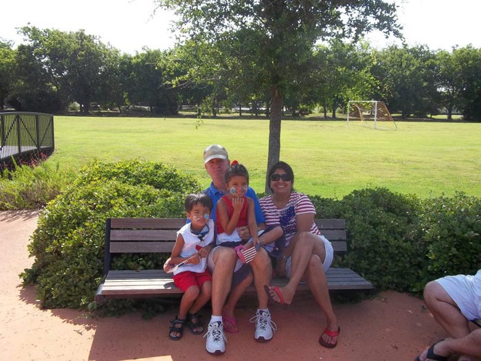 Family at Park